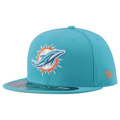 Boné Aba Reta New Era Miami Dolphins - Fechado - Adulto