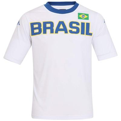 Camiseta Brasil Kappa Países - Masculina