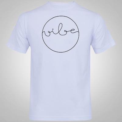 Camiseta Vibe Silk Curslve - Masculina