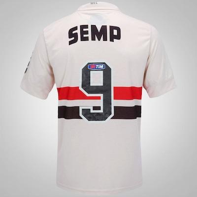 Camisa Penalty São Paulo I - Leônidas Da Silva Coleção Raízes - 2013 - Masculina