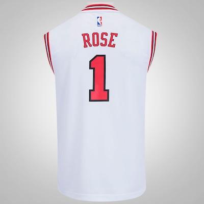 Camiseta Regata adidas NBA Chicago Bulls Home Rose - Masculina
