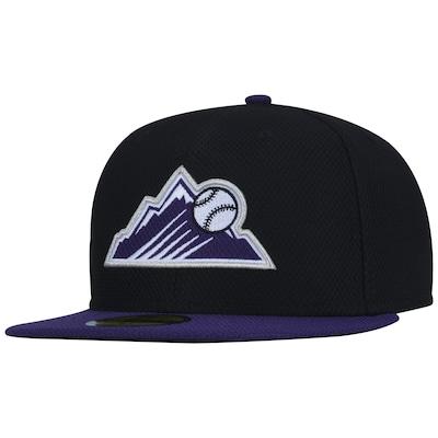 Boné Aba Reta New Era Colorado Rockies MLB - Fechado - Adulto