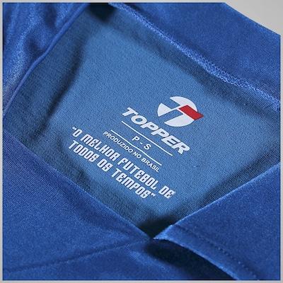 Camisa Polo Manga Longa Topper Brasil N1 - Masculina