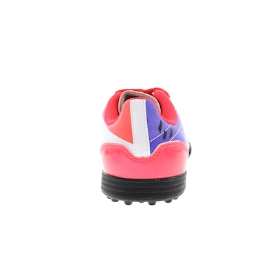 Chuteira do Messi Society adidas F5 TRX TF - Infantil