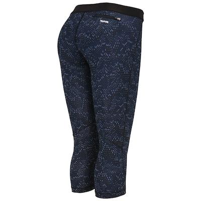 Calça Legging adidas Corsário Core Print TF - Feminina