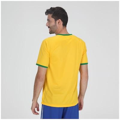 Camisa  do Brasil Amarela Nike Torcedor 2014 s/n° - Masculina
