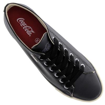 Tênis Coca-Cola The Best Leather Metal - Feminino