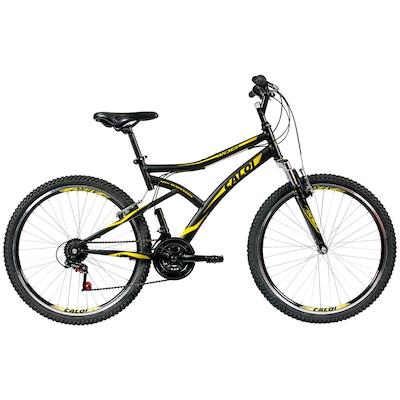 Bicicleta Caloi Andes - Aro 26 - Freio V-Brake - Câmbio Traseiro Caloi - 21 Marchas