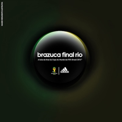 Bola Brazuca Oficial Final Rio Copa do Mundo da FIFA 2014