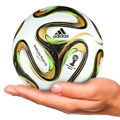 Minibola Brazuca Glider Final Rio Copa do Mundo da FIFA 2014  - Infantil