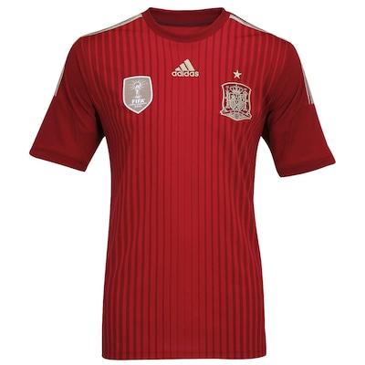 Camisa Espanha I S/N 2014 Torcedor adidas - Masculina