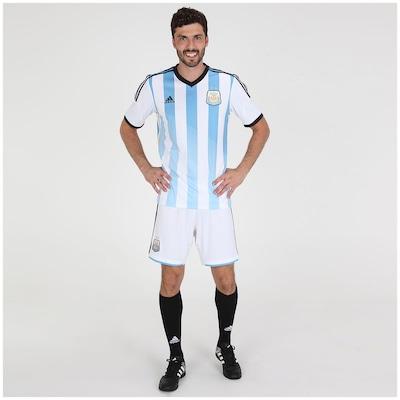 Calção adidas Argentina I 2014 – Adulto