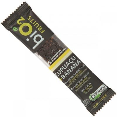 Barra de Cereal Fruits – 276 g - Cx Com 12 Unidades de  23 g Cada – Sabor Cupuaçu e Banana – BiO2