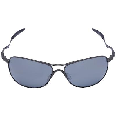 Óculos de Sol Oakley Titanium Cross Hair Iridium Polarizado - Unissex