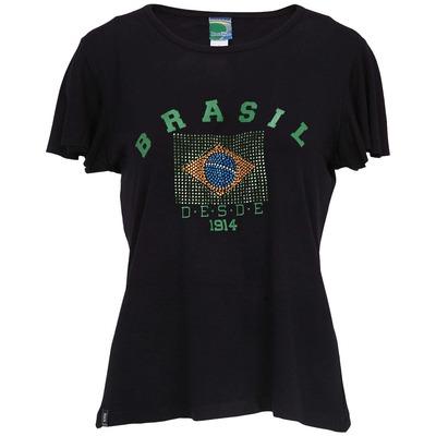 Camiseta Braziline Brasil 023001544 - Feminina