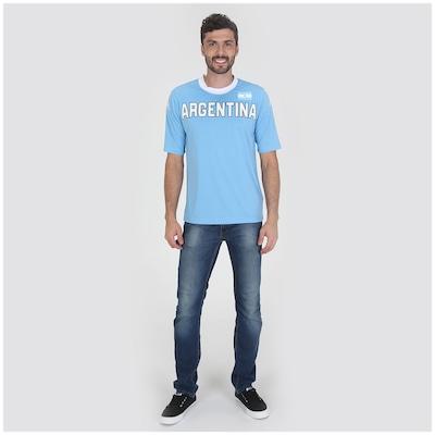 Camiseta Argentina Kappa Países - Masculina