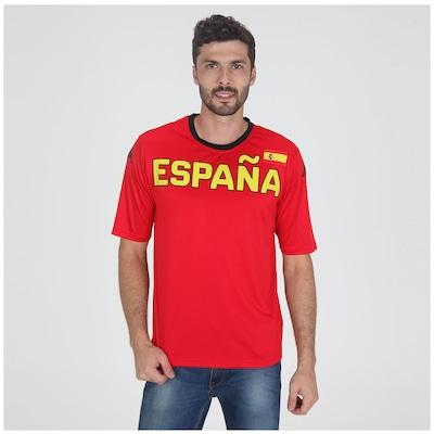 Camiseta Espanha Kappa Países - Masculina