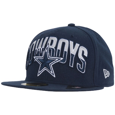 Boné Aba Reta New Era 59FIFTY Dallas Cowboys NFL Team - Fechado - Adulto