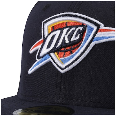 Boné Aba Reta New Era Oklahoma Thunder - Fechado - Adulto