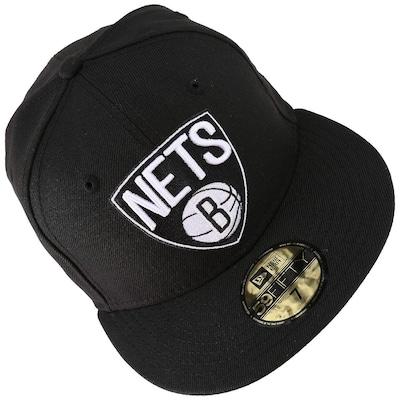 Boné Aba Reta New Era Brooklyn Nets - Fechado - Adulto