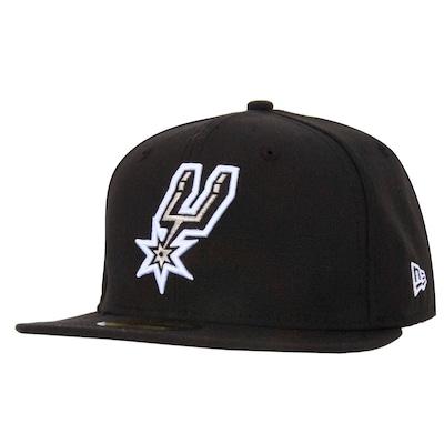 Boné Aba Reta New Era San Antonio Spurs - Fechado - Adulto