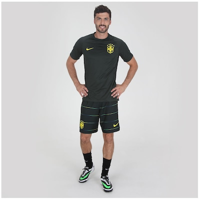 Camisa do Brasil Verde Nike Jogador 2014 s/n° - Masculina