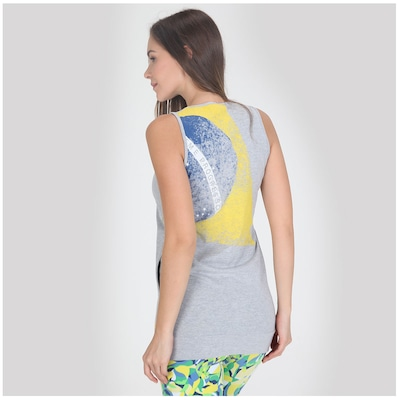 Camiseta Regata Oxer Longa - Feminina