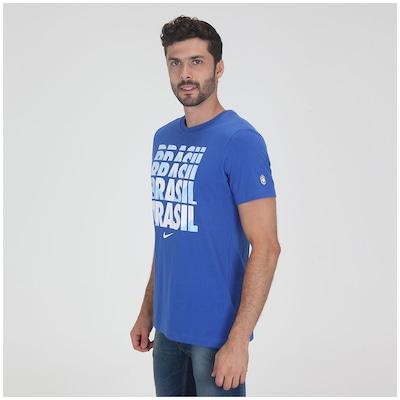 Camiseta Nike Copa CBF Core Type - Masculina