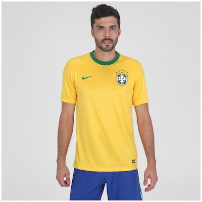 Camisa do Brasil Amarela Nike Seguidor - Masculina