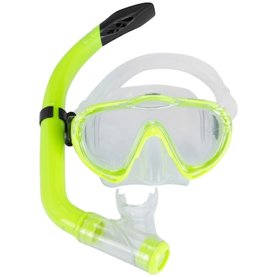 Kit de Mergulho: Snorkel e Máscara de Mergulho Mormaii Oasis - Infantil