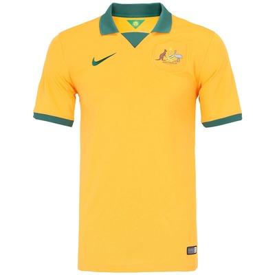 Camisa Nike Seleção Austrália I s/n 2014 - Torcedor