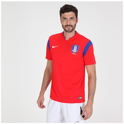 Camisa Nike Seleção Korea I s/n 2014 - Torcedor