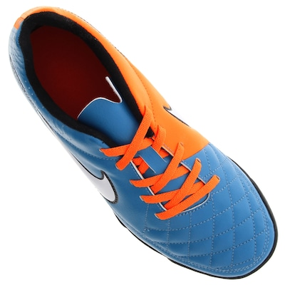 Chuteira Society Nike Tiempo Rio II TF – Infantil
