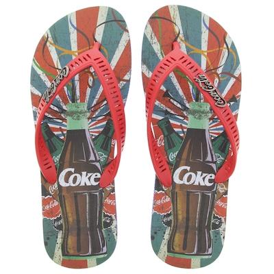 Chinelo Coca-Cola Slot - Masculino