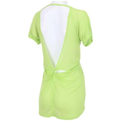 Camiseta Mulher Elástica Twist - Feminina