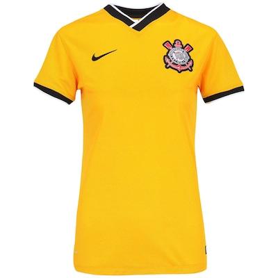 Camisa Nike Corinthians III s/nº Torcedor - Feminina
