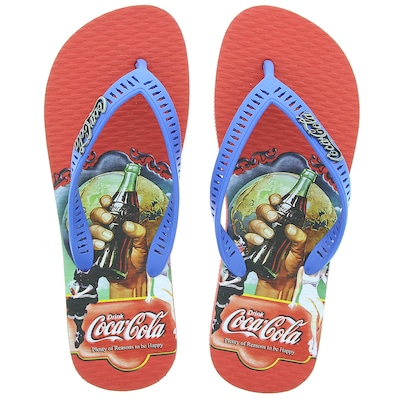 Chinelo Coca–Cola Mare – Masculino