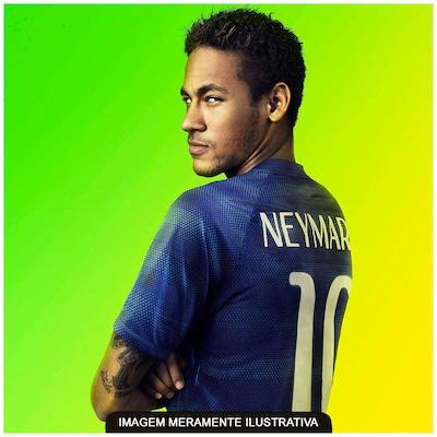 Camisa do Brasil Azul Nike Torcedor 2014 s/n°- Juvenil