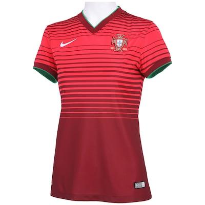 Camisa Nike Portugal Home Stadium – Feminina