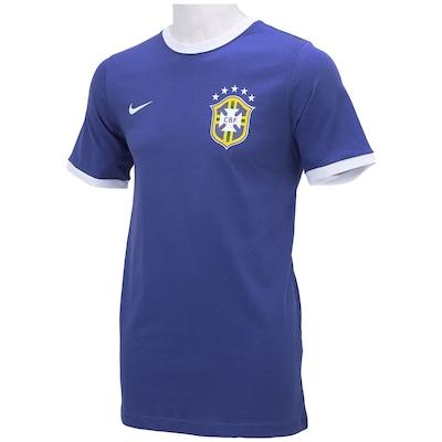 Camiseta Nike Brasil Core Ringer - Masculina