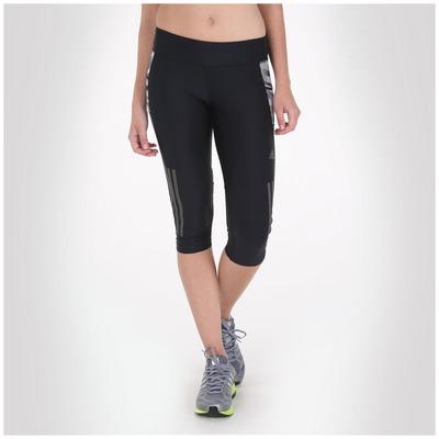 Calça Legging Corsário adidas Super Nova Graf - Feminina