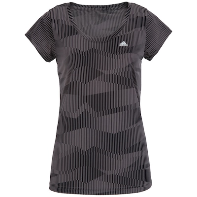 Camiseta adidas Aop Gráfica Wkt - Feminina
