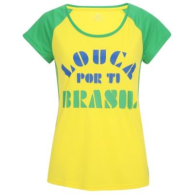 Camiseta adidas Lw WC14 Brasil Ss14 – Feminina