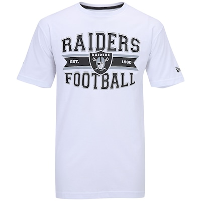 Camiseta New Era Belt Oakland Raiders