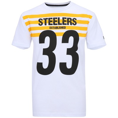 Camiseta New Era Number Pittsburgh Steelers
