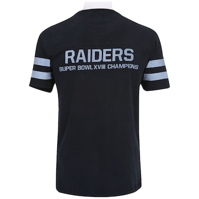 Camiseta New Era Jersey Oakland Raiders - Masculina