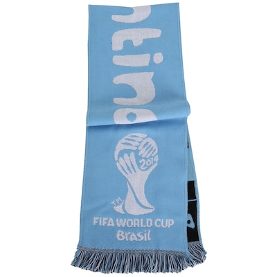 Cachecol Kalciomania Copa do Mundo Argentina - Unissex