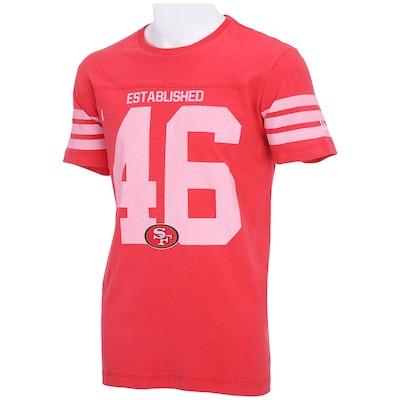 Camiseta New Era Jersey San Francisco 49ers - Masculina