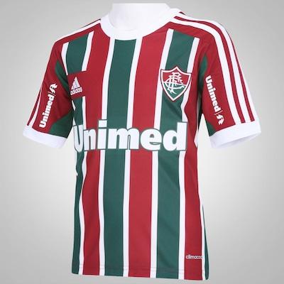 Camisa adidas Fluminense I 2014 s/ nº – Infantil