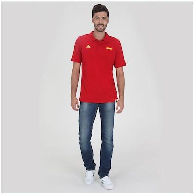 Polo adidas Espanha WC14 – Masculina